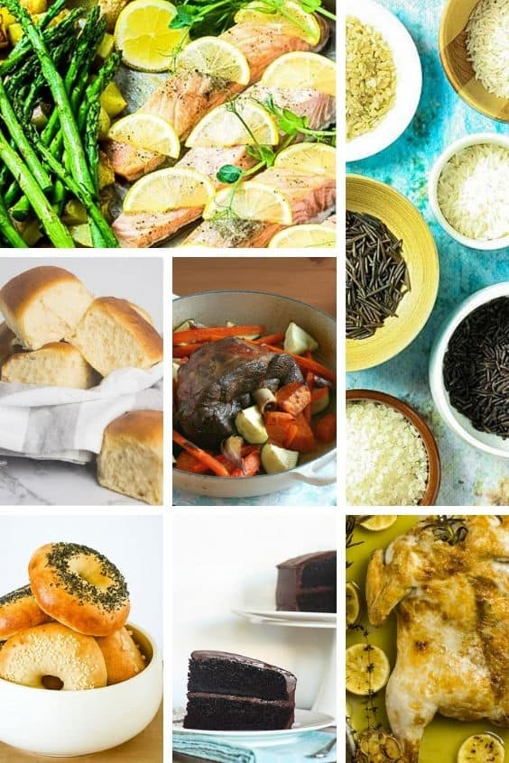 a collage of the top 10 recipes to make in a steam oven