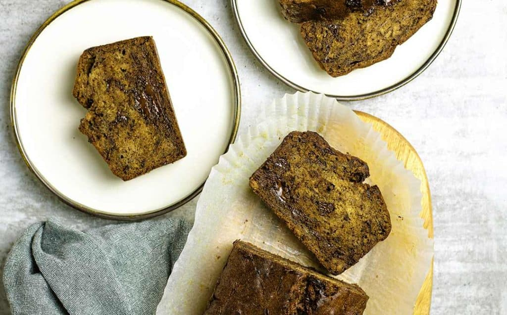 chocolate chunk steam oven banana bread