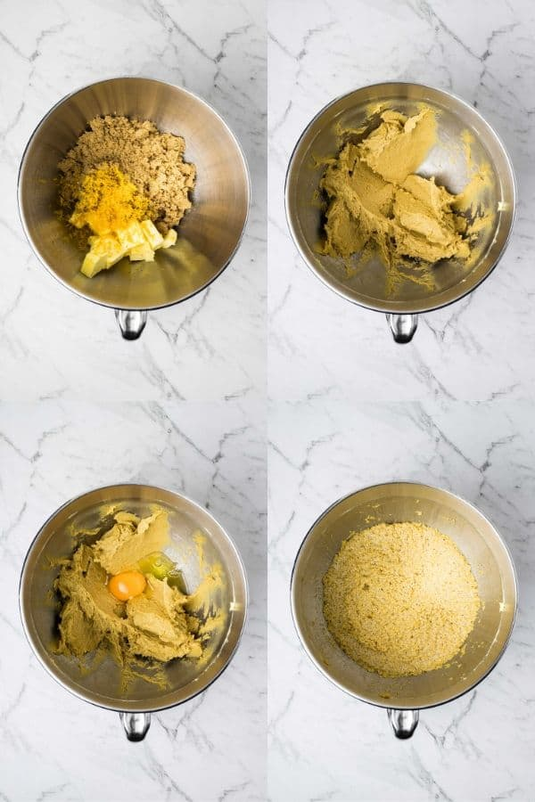 steps for mixing batter for steamed christmas puddings