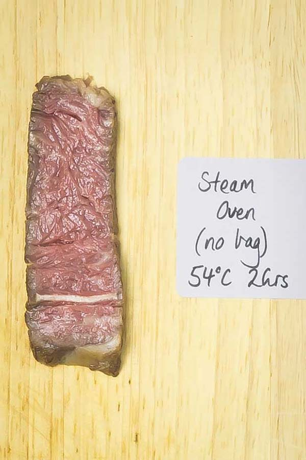 cooked sliced steak