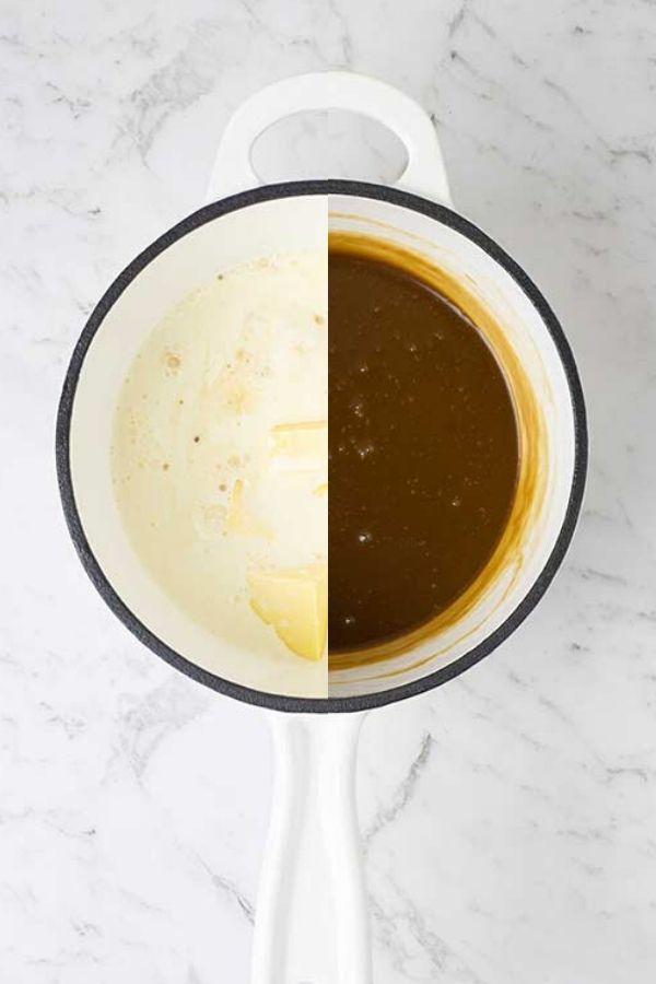 sticky toffee sauce