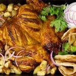 tandoori roast chicken landscape