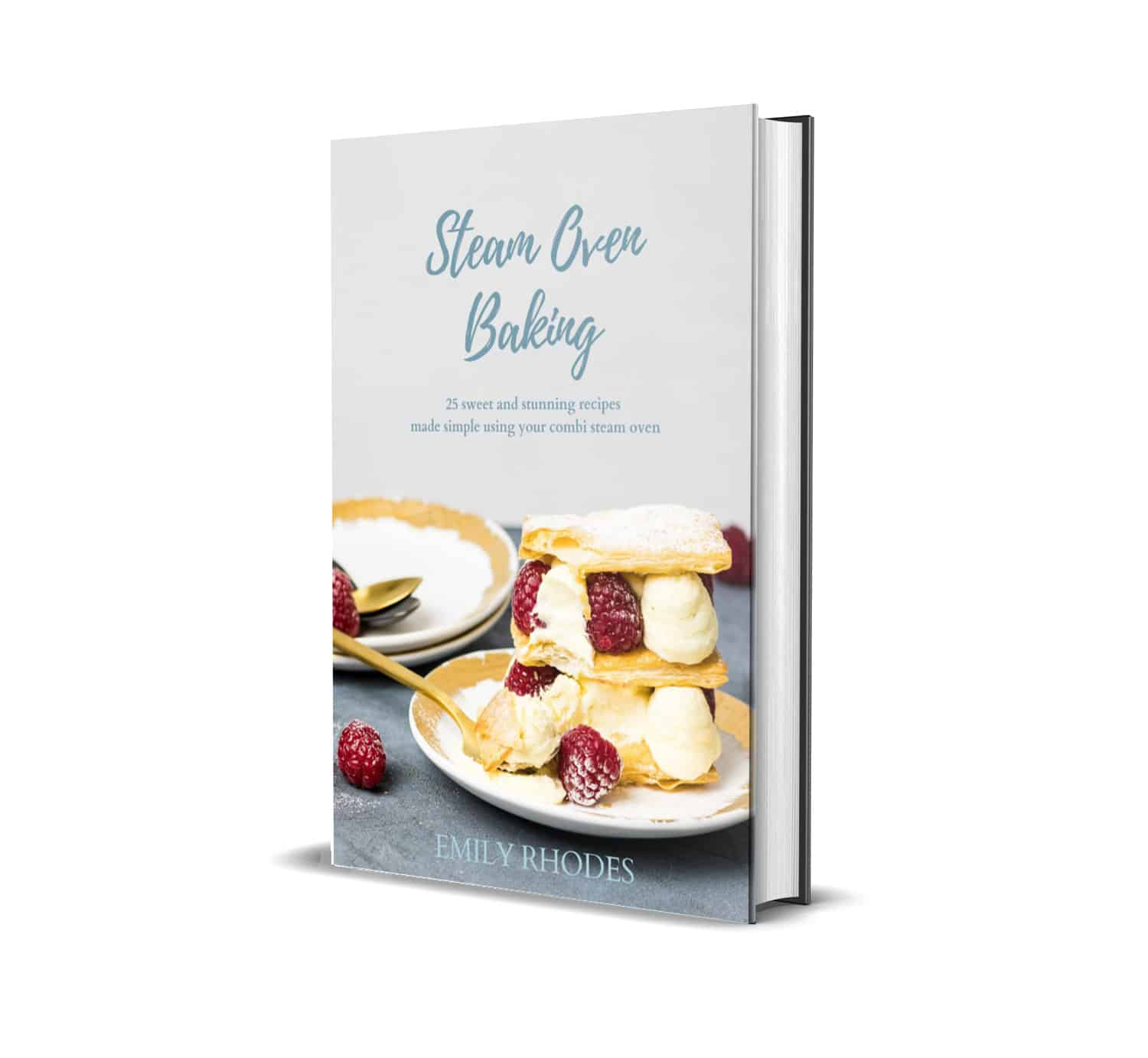 cover image of steam oven cookbook
